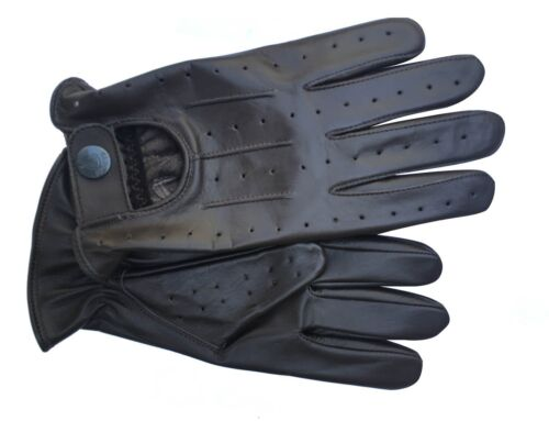 7012 NEW TOP QUALITY REAL SOFT LEATHER MENS DRIVING GLOVES
