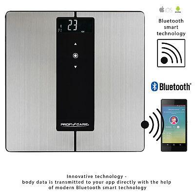 Bascula bluetooth baño digital con análisis corporal 9 funciones Iphone Android