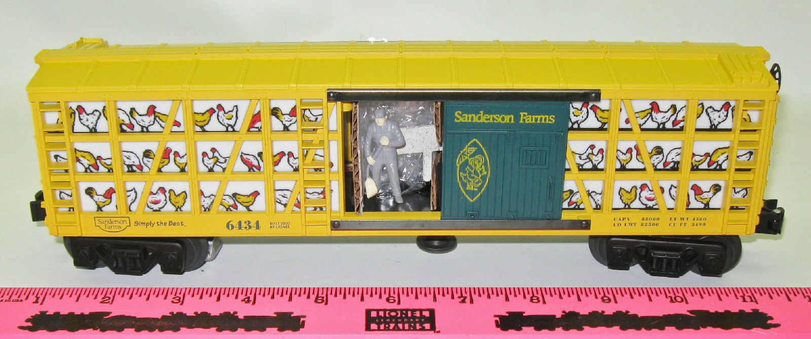 Lionel New 6-19882 Sanderson Frams Poultry car