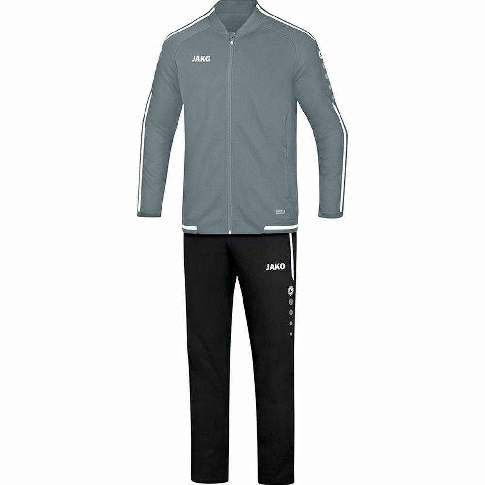 Jako fútbol presentación  traje Striker 2.0 caballeros chaqueta pantalón gris blancoo  Envío y cambio gratis.