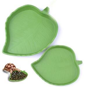 Resin-Reptile-Feeding-Food-Water-Dish-Pet-Tortoise-Gecko-Snakes-Smtp-amp