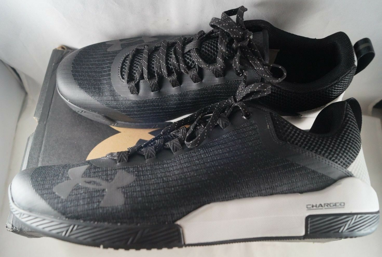 7d9efc050edd Under Armour Shoes Mens Charged Legend Training Cross-Trainer Shoe Black Gray  Black