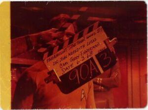 Star-Trek-TOS-35mm-Film-Clip-Slide-Elaan-Troyius-Kirk-Spo-Clapper-Board-3-13-133