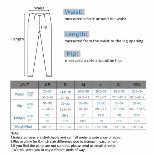 IUGA High Waist Yoga Pants with Pockets Tummy Control Workout Pants for Women