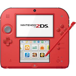 Nintendo 2DS (Crimson Red 2) - REFURBISHED BY NINTENDO - Warranty Included