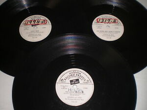 Lot-of-3-Johnnie-and-Jack-The-Tennessee-Mountain-Boys-78-RPM-Records
