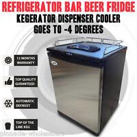 Refrigerator Bar Beer Fridge Kegerator Dispenser Cooler Goes To -4 Degrees
