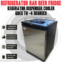 Refrigerator Bar Beer Fridge Kegerator Dispenser Cooler Goes To -4 Degrees