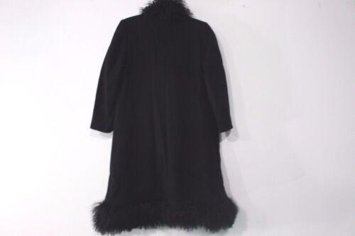 Uld Randini Sort til Størrelse 100 Lille Edwardo Medium Frakke Spg8wwqB