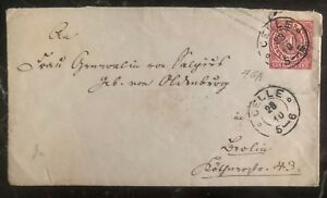 1900s-Celle-Germany-Postal-Stationary-Cover