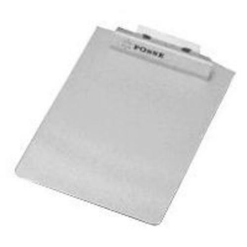 Posse Box LR-125 Silver Anodized Aluminum Flat Lettersize Clipboard 9.25 X 12.5