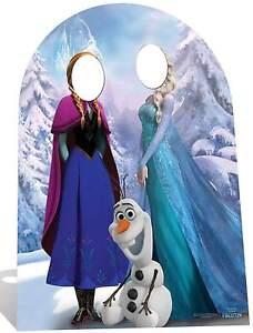 Sc-760 Frozen Stand-in Hauteur 185cm Disney Présentoir En Carton Taille Réelle