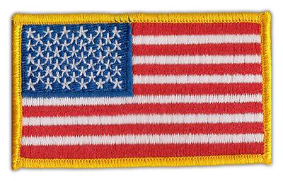 Motorrad Motorradjacke Weste Aufnäher Vereinigte Staaten Flagge Usa