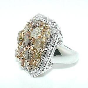 3-50ct-Multi-Color-Diamond-Ring-18K