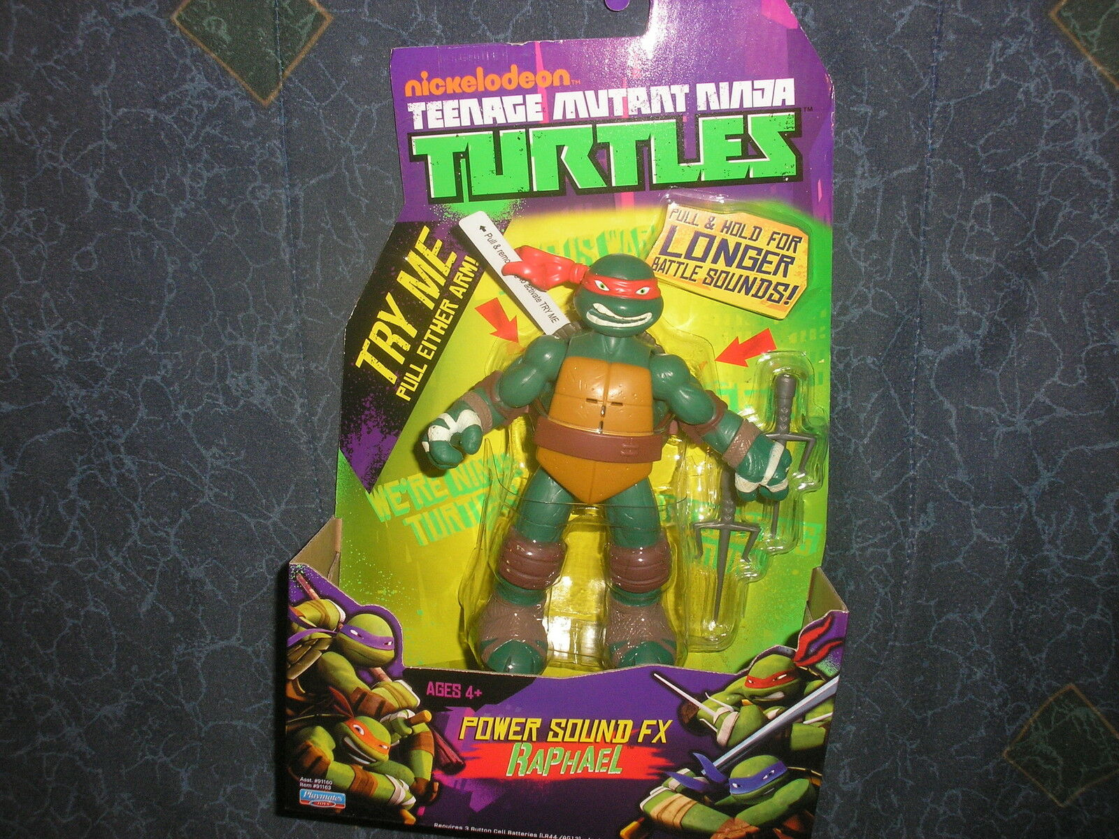 New Teenage Mutant Ninja Turtles Power Sound FX Raphael