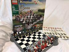 Lego Kingdoms Chess Set 853373 100% Complete 28 Minfigures Castle King Queen