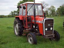 Massey Ferguson 255 265 270 275 290 Tractor Workshop Manuals - 200 Series