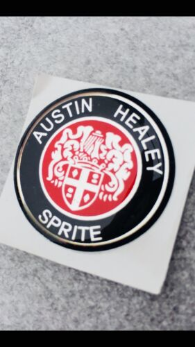 Austin Healey Sprite SELF ADHESIVE STEERING WHEEL//GEARKNOB BADGE