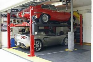Brand new parking lift ,4 post car hoist with warranty Canada Preview