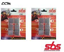 YAMAHA YZF1000 R1 09-14 Radial Caliper SBS 839RS Front Brake Pads Racing Sinter