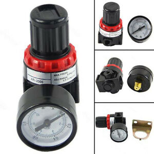 1-4-034-Air-Control-Compressor-Relief-Regulator-Valve-AR2000-Pressure-Gauge-Alloy