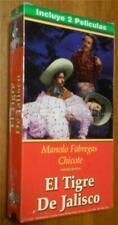 2 Movies-in-1:  Las Hijas Del Amapolo/El Tigre De Jalisco - VHS, Brand New