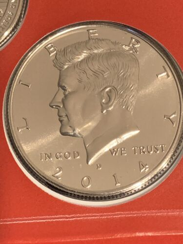 from Uncirculated Mint Set 2014 P/&D Kennedy Half Dollars