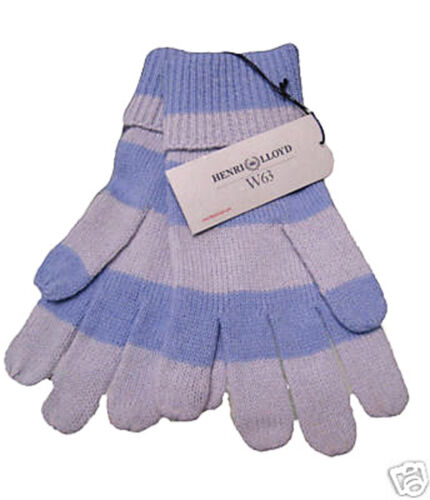 Henri Lloyd Womens Ladies 'Kirsty' wool Gloves AUTHENTIC