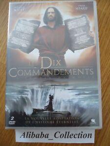 Nuevo-DVD-Les-Ten-Commandments-10-Moises-Scott-Sharif-Dornhelm