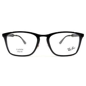 7502cf3b4f New Ray Ban Optical Eyeglasses RX Frame RB 7131 2000 Black 55-19-145 ...