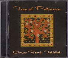 Omar Faruk Tekbilek - Tree of Patience - CD (AD20518 Alif Israel)