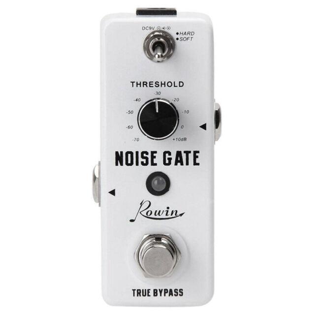 Rowin Guitar Noise Killer Noise Gate Suppressor Effect Pedal P2J1