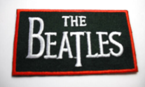 THE BEATLES  LOGO SEW//IRON ON PATCH