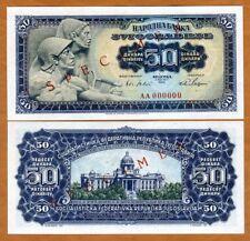 Yugoslavia 50 Dinara UNC Uniface Copy