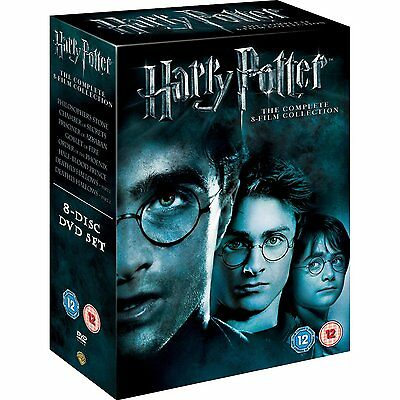 Harry Potter Complete Movies DVD Box set 1,2,3,4,5,6,7 & 8 - 8 Movies R4