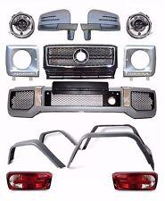 Mercedes Benz W463 G class G63 AMG BODY KIT FACELIFT headlights taillights