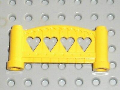 Lego Fabuland x635c02 x4 Window Fenêtre Red rouge Yellow Jaune 3682 3678 79 F23