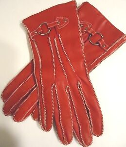 40fb73655 Image is loading Ladies-Women-039-s-Genuine-Leather-Driving-Gloves-