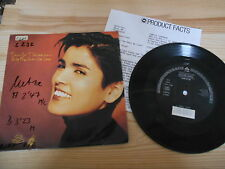 "7"" Pop Tanita Tikaram - Only The Ones We Love (2 Song) WEA WARNER + Presskit"