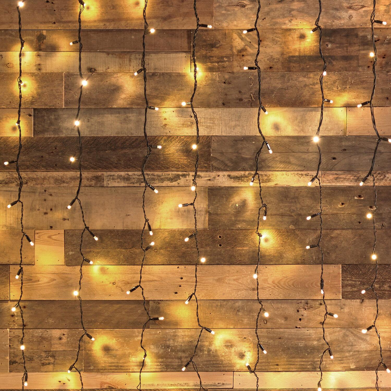 1-4 x 192er LUCI LED sipario FLOTTANTI Nero Cavo alimentazione esterno lights 4fun