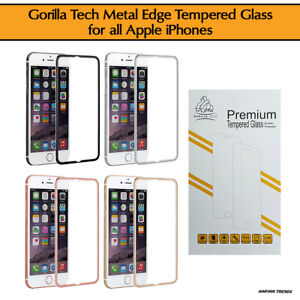 Gorilla-Tech-Metal-Edge-Tempered-Glass-Screen-Protector-for-all-Apple-iPhones