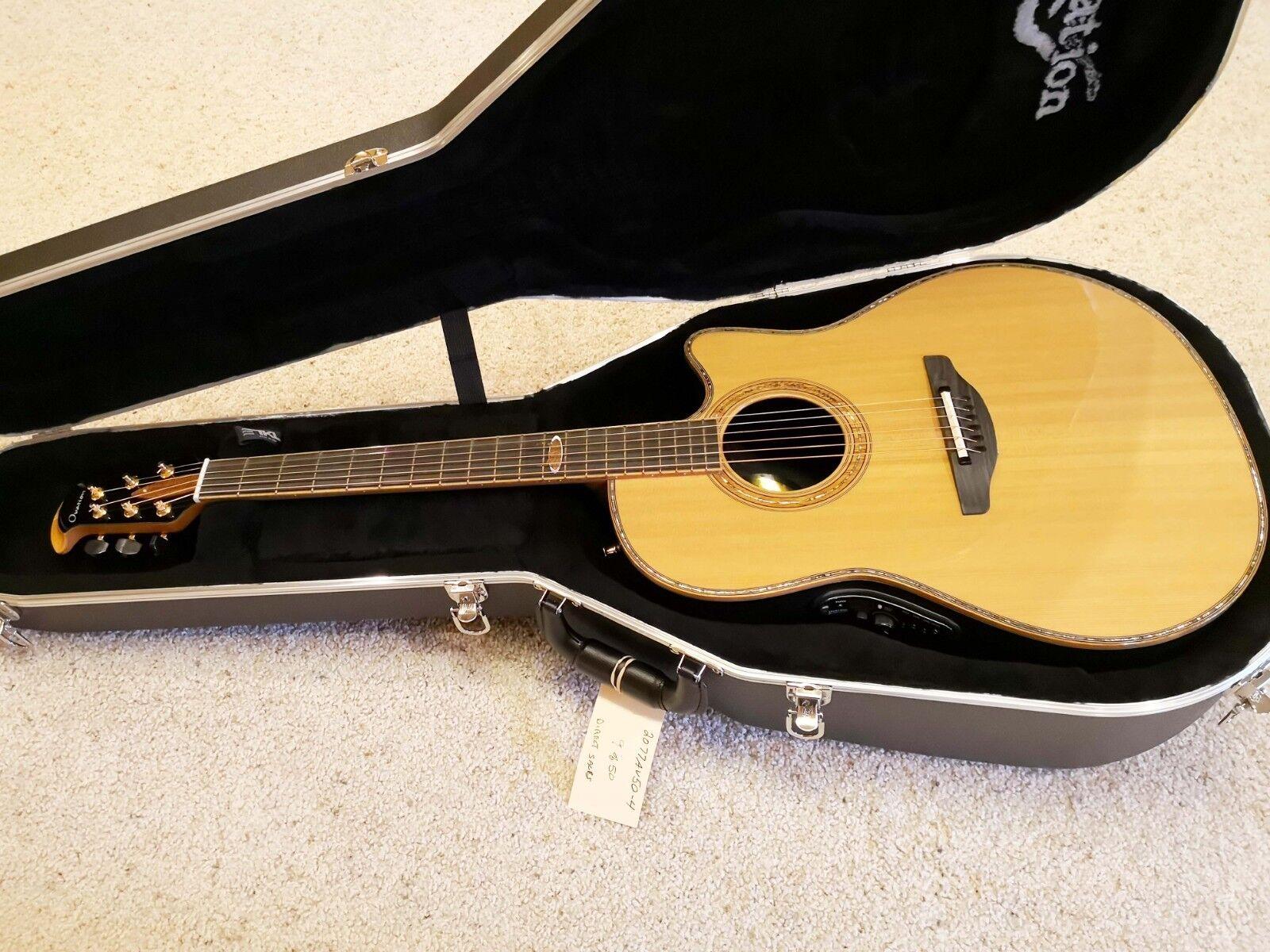 New Ovation 2077AV50-4 50th Anniversary Custom Legend Acoustic-Electric Guitar