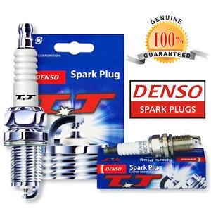 4x Volvo 740 744 2.3 Genuine Denso Twin Tip TT Spark Plugs