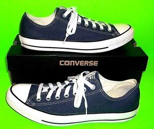 19cf67aa9797 Converse Chuck Taylor All Stars ALL STAR Ox Navy Blue Sneakers M9697 ...