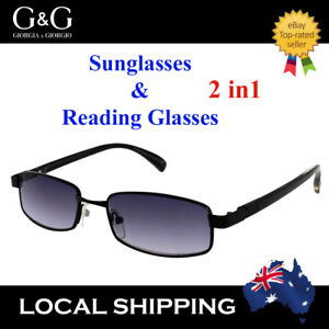 02cbb6529df4 Gift Idea G&G Men Whole Lens Tinted Reading Glasses 3.0 3.5 4.0 only ...