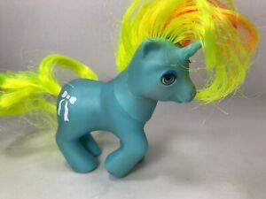 VINTAGE My Little Pony Beddy Bye Eyes Baby Ribbon Unicorn 1986