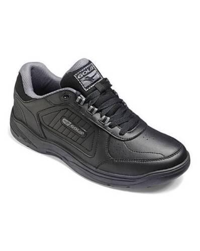 lacets taille Uk à pour Belmont large Gola 11 avec Chaussures £ 50 tennis noires Rrp 45 en hommes Eu de cuir 6pxWz7nwW
