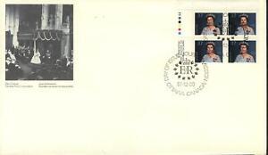 "CANADA Scott FDC # 1162, UL ""QUEEN ELIZABETH II"" 1988, VAL. $ 6.50"