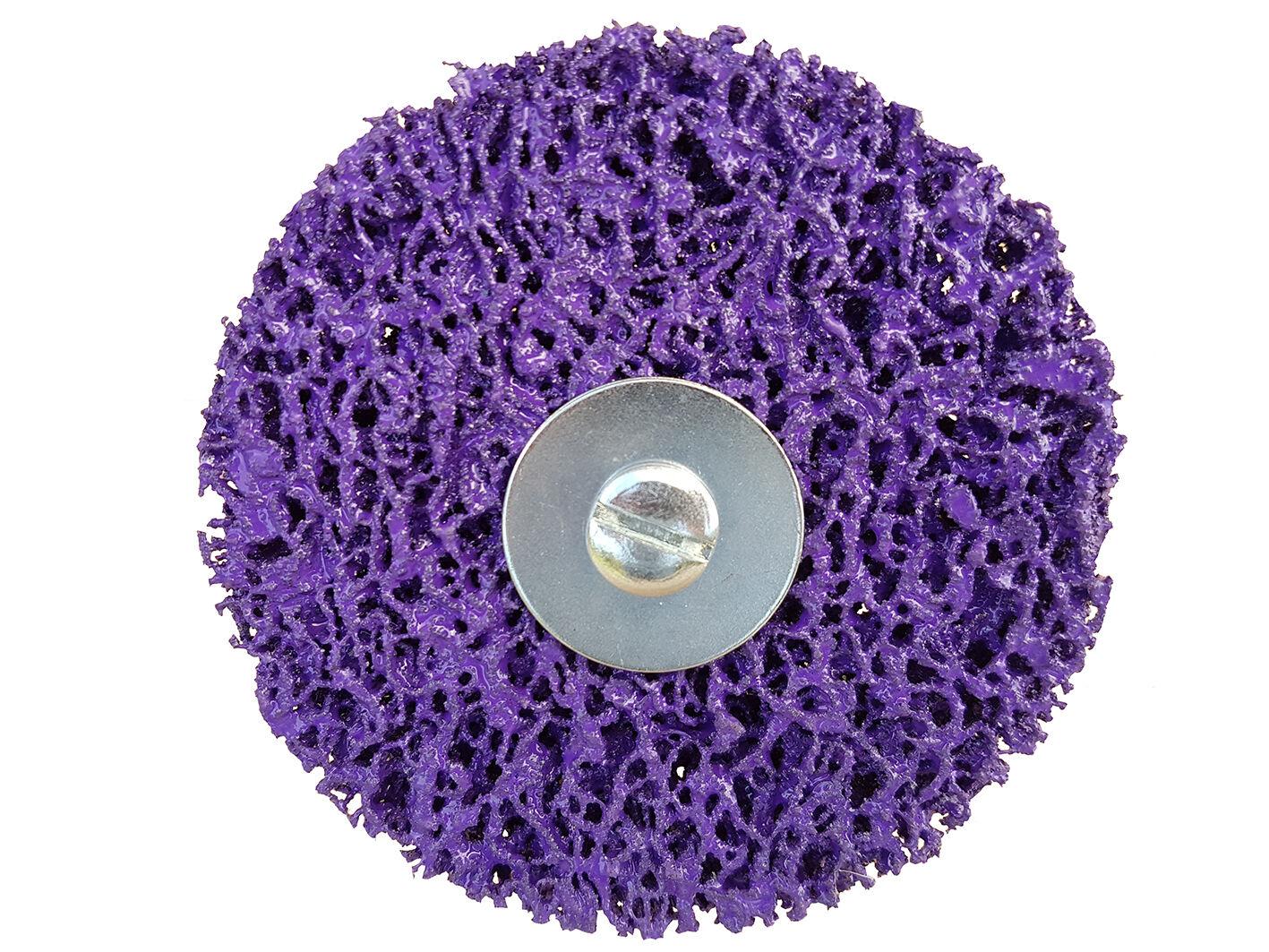 rostio csd scheibe schleifscheibe reinigungsscheibe rostentferner lila purple ebay. Black Bedroom Furniture Sets. Home Design Ideas