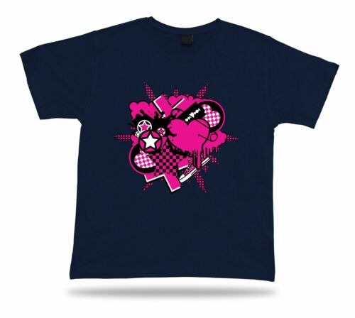 Urban Emo Heart Love Romance modern cool tshirt tee stylish design gift apparel